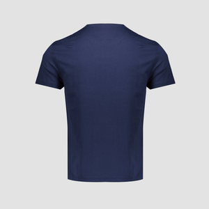 T-shirt con taschino Blue