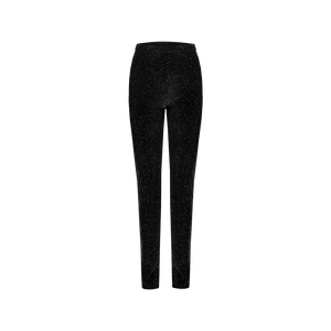 Leggings Nero Glitter