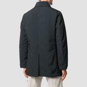 Cappotto Monopetto David Nero