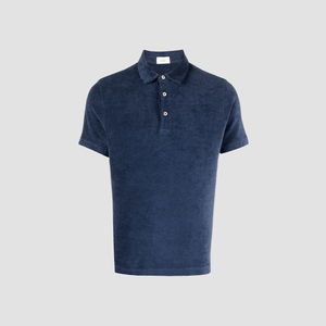 Polo in spugna Blue
