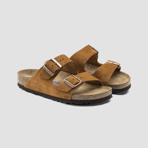 Sandali Arizona suede Marrone