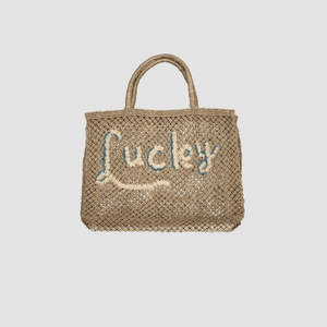 "Borsa in juta ""Lucky"" Naturale"