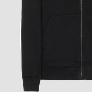 Felpa Full Zip Nero