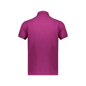 Polo Slim Fit Maniche corte Royal Magenta