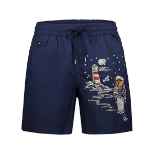 Boxer Mare Nautical Bear Blu