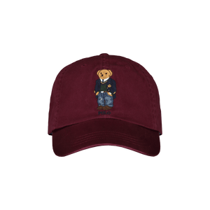 Cappello in chino Polo Bear