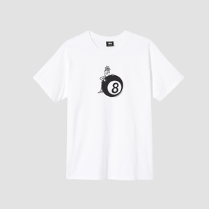 T-Shirt 8 Ball Man Bianco