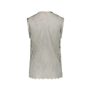 Top in pizzo Bianco
