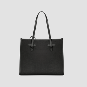 Borsa Marcella Medium Crock Nero