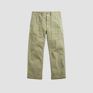 Pantaloni Fatigue Herringbone Militare