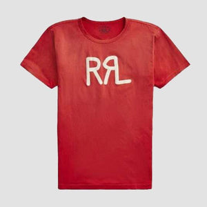 T-shirt stampa Logo Rosso
