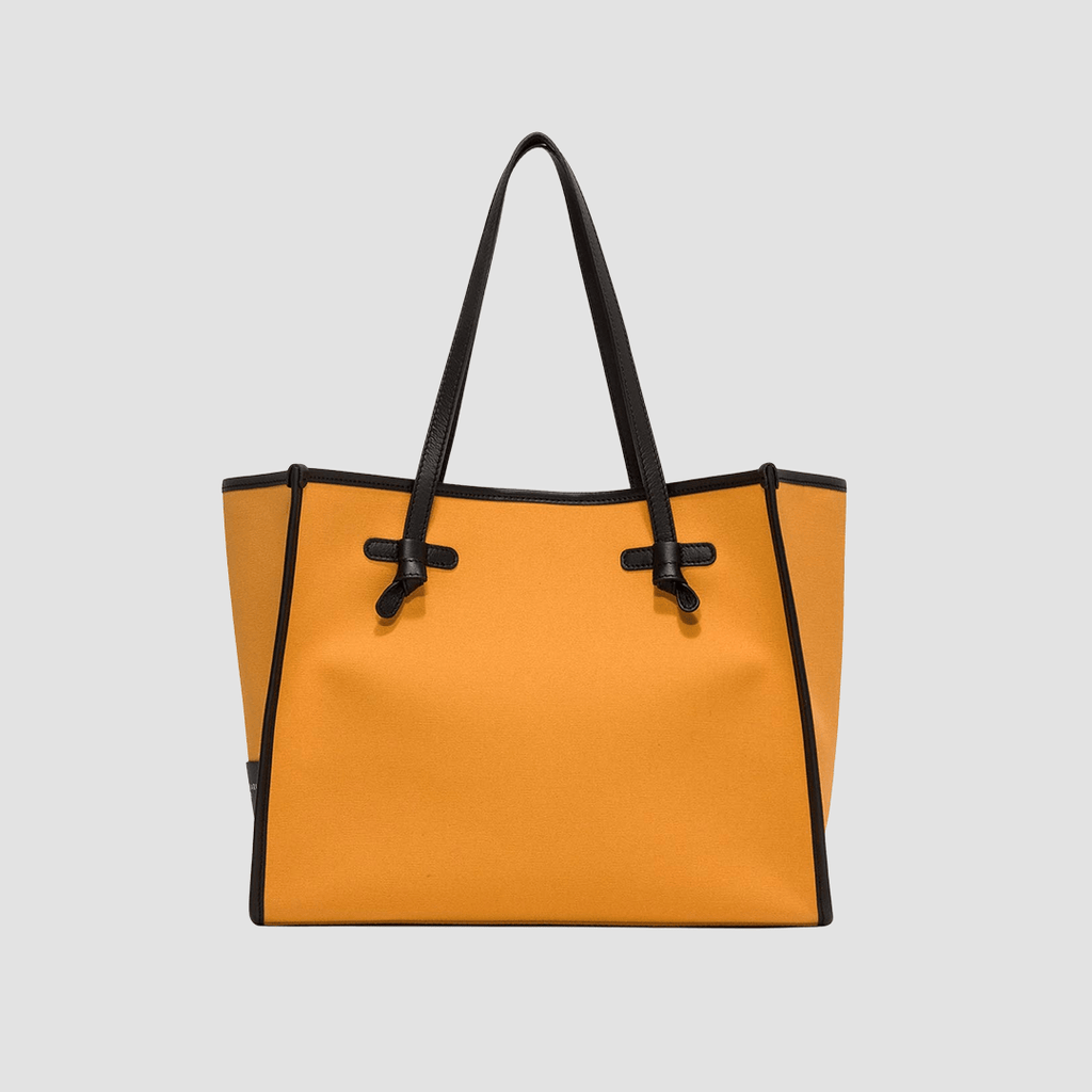 Borsa Marcella Canvas Arancio