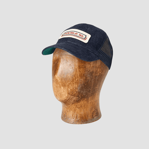 Cappello Trucker Denim Indaco