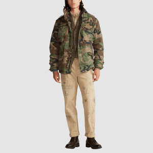 Giacca militare Camouflage