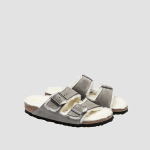 Sandali Arizona Shearling Grigio