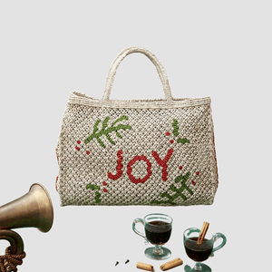 "Borsa in juta ""Joy"" Naturale"