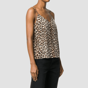 Top Layla Stampa Leopardo Multi