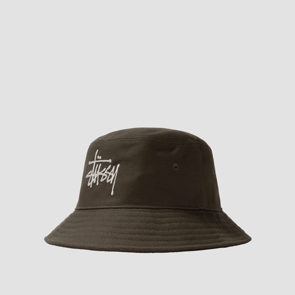 Cappello Bucket in Twill  Militare