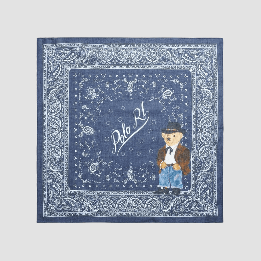 Bandana con Polo Bear Blue