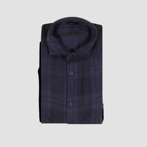 Camicia Sean Check Blue