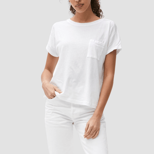 T-Shirt Shiloh Pocket Tee Bianco