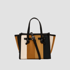 Borsa Miss Marcella Summer Stripe Tabacco