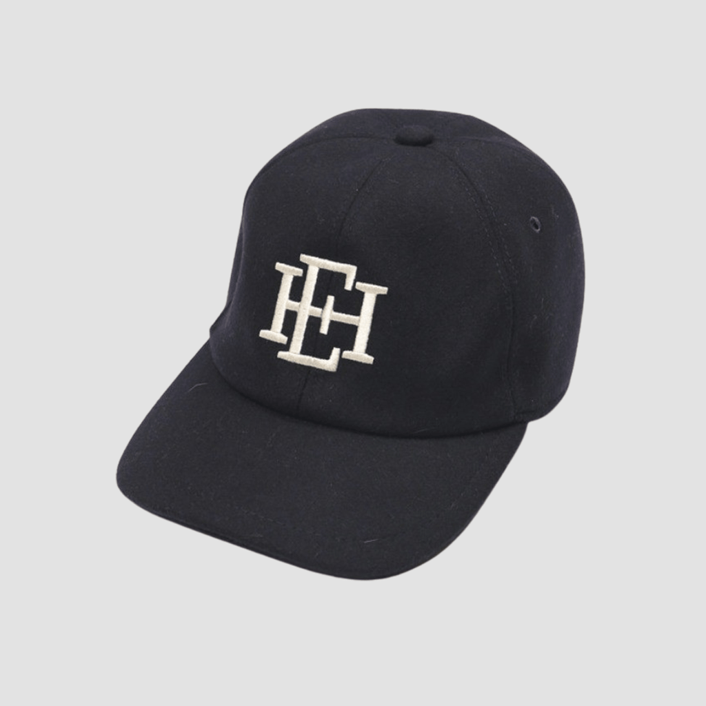 Cappello Baseball in lana Blue
