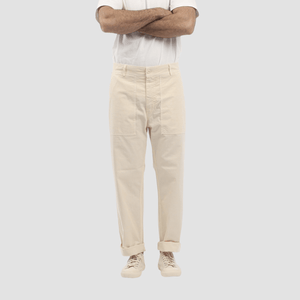 Pantalone Tommy 02 Off White