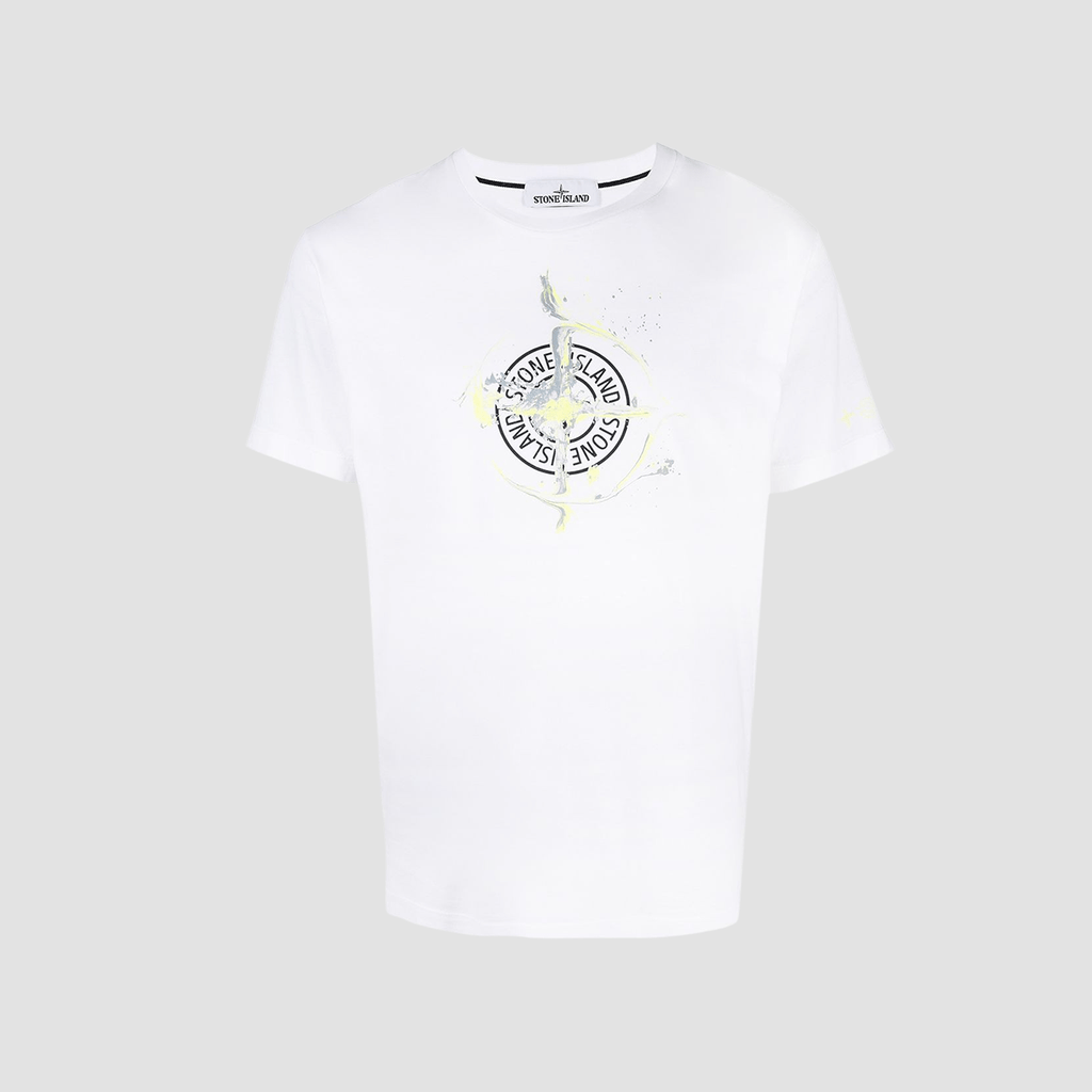 "T-Shirt ""Marble One""  Bianco"