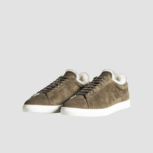 Sneakers ZSP4 in Shearling Militare