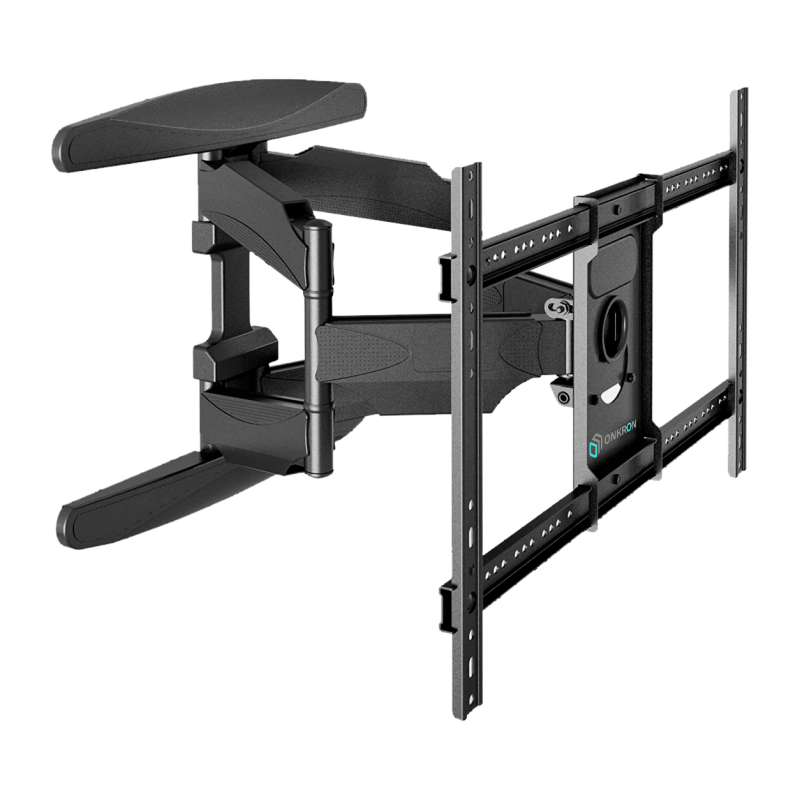 "TV Mount for a Flat Panel TV Screens 32""-55"" up to 77 lbs, Wall Mount for Curved Screens, M6l Black"