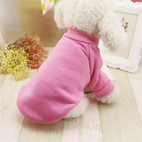 Winter Thick pet cat dogs clothes Jacket Round