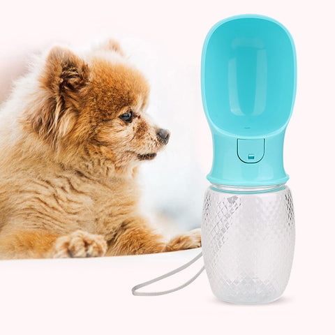 350ML Travel Dogs Water Drinking Bottle For Small Large Dogs Travel Puppy Cat Drinking Bowl Outdoor Pet Water Dispenser Feeder