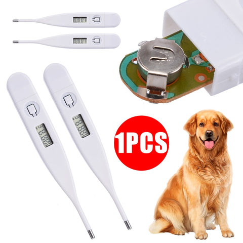 1PC Useful Pet Cat Dog Puppy Digital Veterinary Thermometer Health Care Pet Medical Supplier