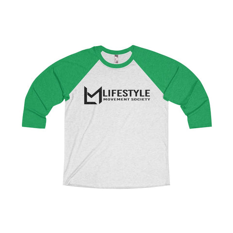 Ladies 3/4 Raglan Tee- 10 Color Options