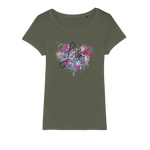Love Organic Jersey Womens T-Shirt - Ink Elements