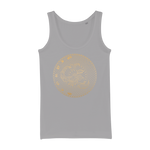 Zodiac Signs - Scorpio Organic Jersey Womens Tank Top - Ink Elements