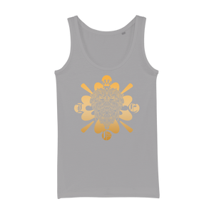 Zodiac Signs - Leo Organic Jersey Womens Tank Top - Ink Elements