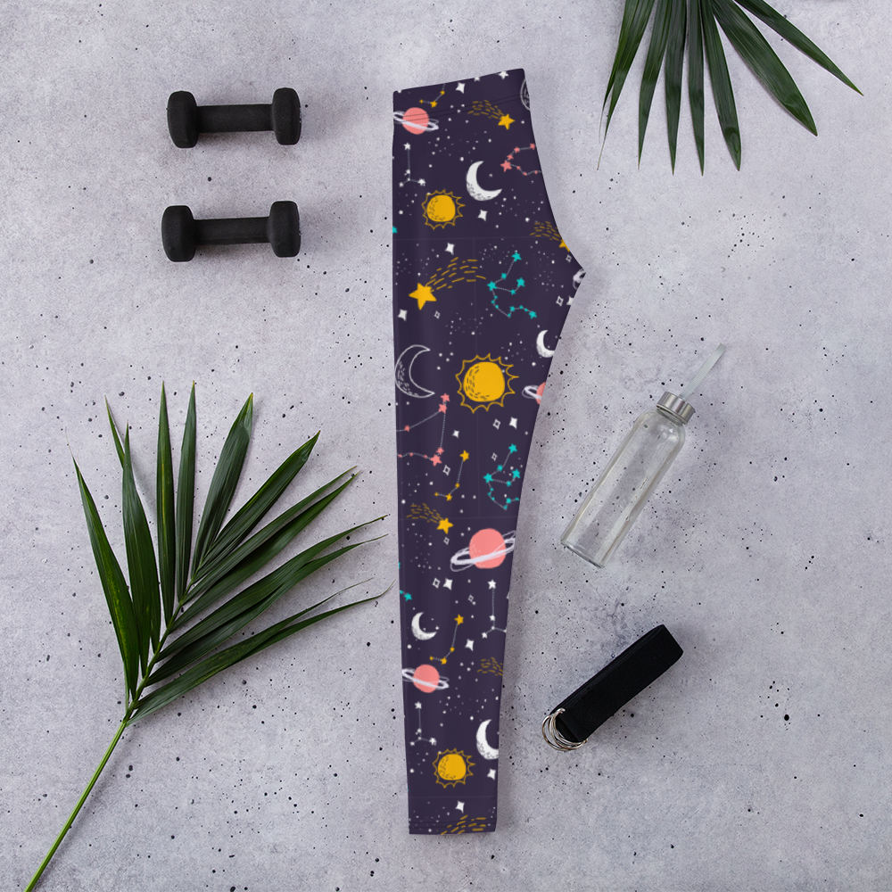 Astral Body Leggings - Ink Elements