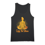Enjoy The Silence Organic Jersey Womens Tank Top - Ink Elements
