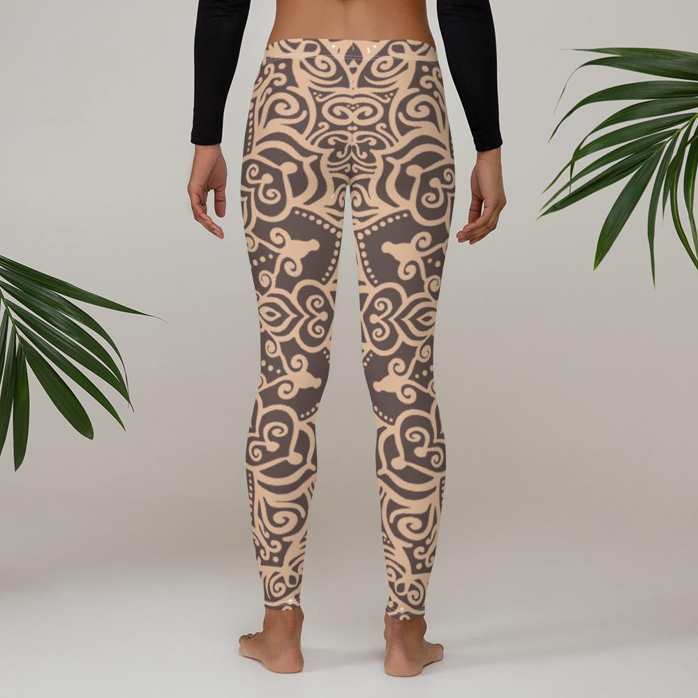 Mandala Leggings - Ink Elements