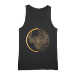 Zodiac Signs - Taurus Organic Jersey Womens Tank Top - Ink Elements