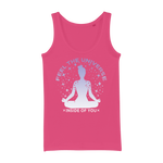 Feel The Universe Organic Jersey Womens Tank Top - Ink Elements