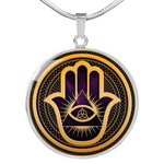 Hamsa Hand, The Triquetra And The Enlightment - Ink Elements