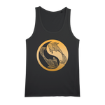 Zodiac Signs - Pisces Organic Jersey Womens Tank Top - Ink Elements
