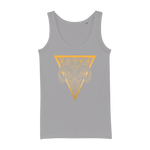 Zodiac Signs - Aries Organic Jersey Womens Tank Top - Ink Elements