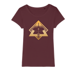 Zodiac Signs - Sagittarius Organic Jersey Womens T-Shirt - Ink Elements