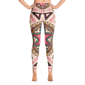 Mandala - Yoga Leggings - Ink Elements