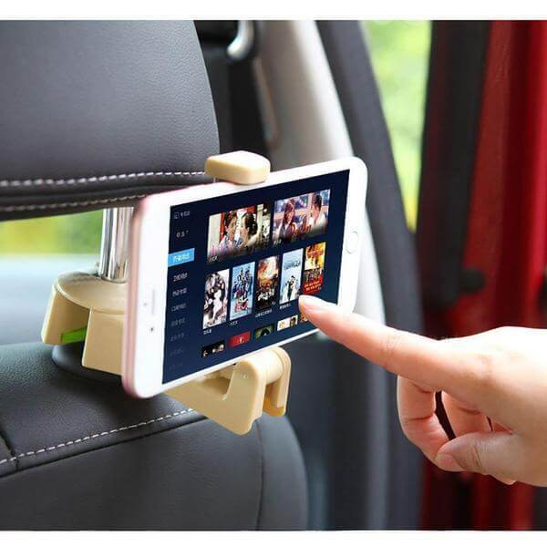 Car Headrest Hooks - [Keeps Items Off Dirty Floors/Seats] - ConsumerTrends.io