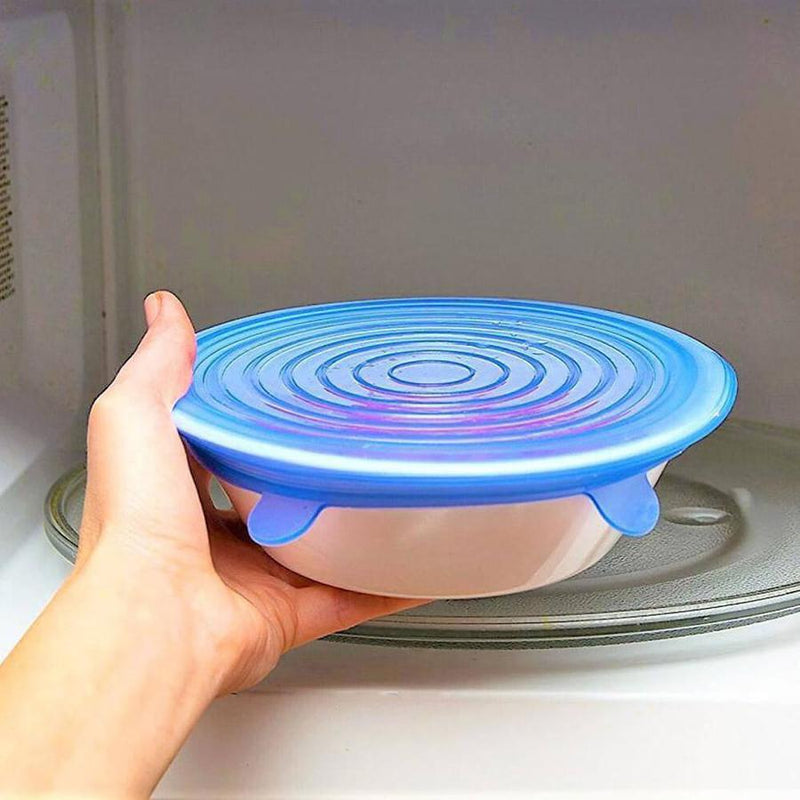 Silicone Stretch Lids - [SAVE The Planet & Money 2019] - ConsumerTrends.io